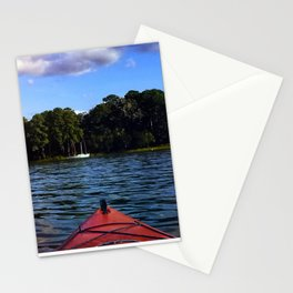 Weekend on the water Stationery Cards