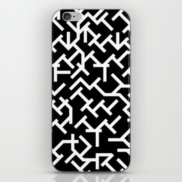 Geometric Labyrinth iPhone Skin