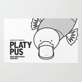 Platypus, Wildlife of Australia Rug