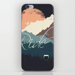 Ride iPhone Skin