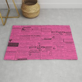OWNERS OF A LONELY HEART (MUCH BETTER...) Rug
