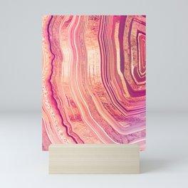 Tribeca Rose Geode Mini Art Print