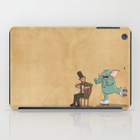 lincoln iPad Cases featuring Lincoln by The Drawbridge