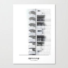 Plattenbau Canvas Print