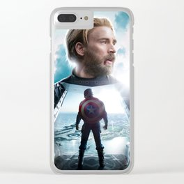CaptainAmerica (A Hero's End) Clear iPhone Case