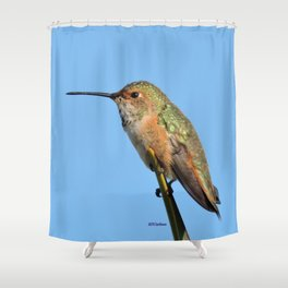 Grasping the Point Shower Curtain