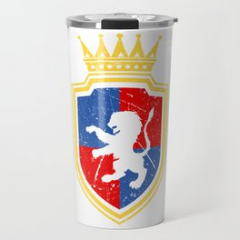 King Castle Lover Great gift idea for every knight and Fairy tale fan for birthday T-shirt Design Travel Mug