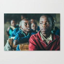 Kenyan Schoolchild Two Canvas Print