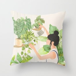 This is a place where I feel at home Throw Pillow