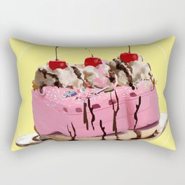 Bananciaga Split Rectangular Pillow