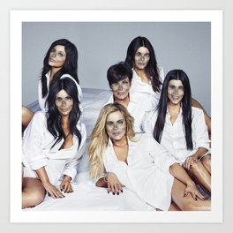 Helldashians Art Print