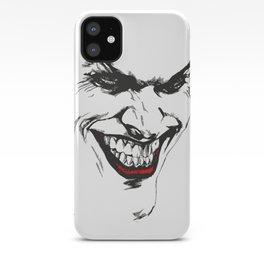 Joker vector iPhone Case