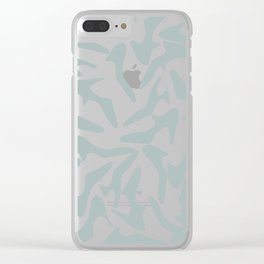 Shoes Zoom Mint and Grey Clear iPhone Case