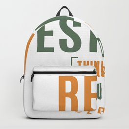 Real Estate Thing Backpack