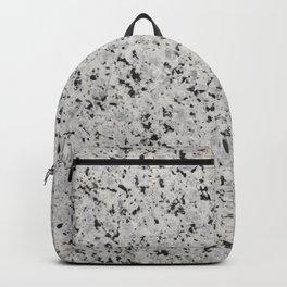 Black and white granite Backpack