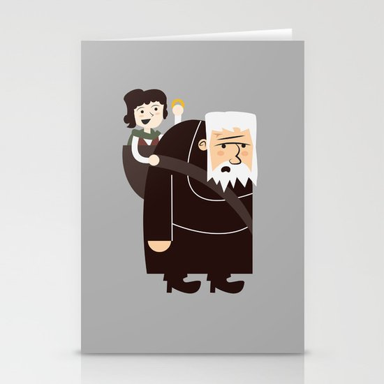 Ring Bearer Stationery Cards