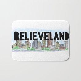Believeland Cleveland Ohio Bath Mat