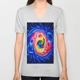 Abstract perfektion 86 Unisex V-Neck