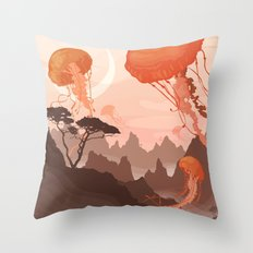 Eclipse Throw Pillow