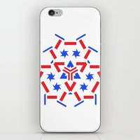 patriotic iPhone & iPod Skins featuring Patriotic by Robin Curtiss