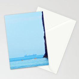 Man and Perce Rock Panoramic Stationery Cards