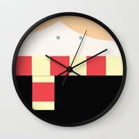 ginger Wall Clocks featuring ginger by Tati™