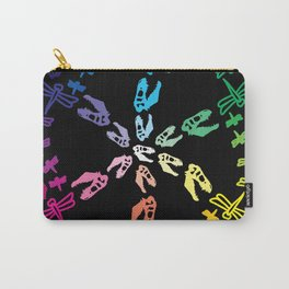 Dinos and Dragonflies Carry-All Pouch