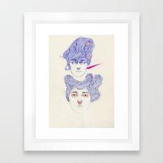 Hair Play 08.2 Framed Art Print