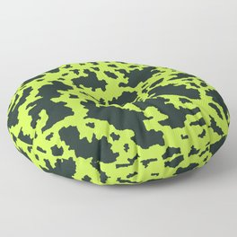 military camouflage pattern Floor Pillow