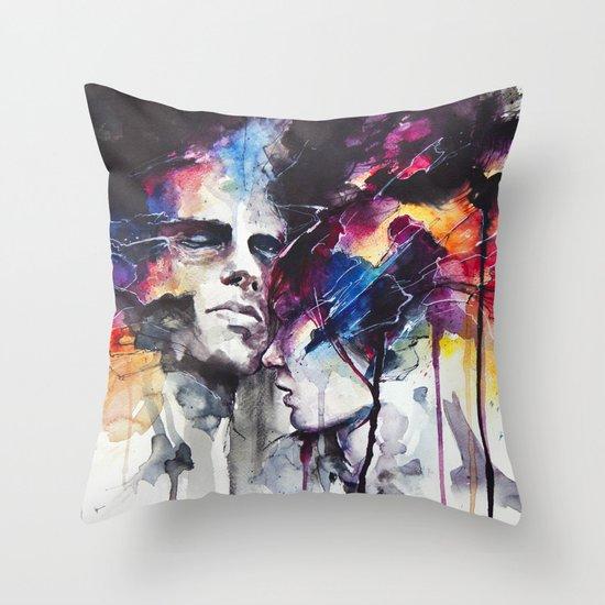 la nostra infinita abnegazione Throw Pillow