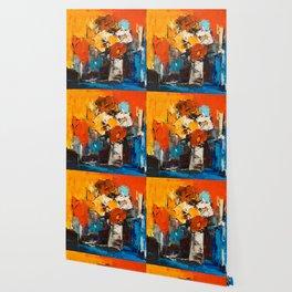 Dancing Colors Wallpaper