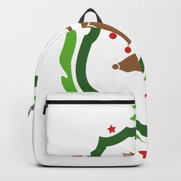 Christmas Deer Backpack