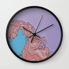 Shaman's Spiral Wall Clock
