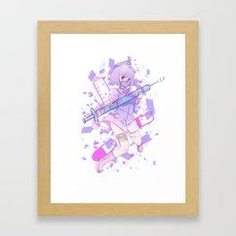 Blooming Hospital 1: Menhera Kei Framed Art Print