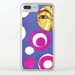 King Tut and the Gunslinger Clear iPhone Case