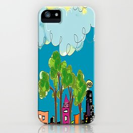 JL The City View iPhone Case