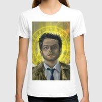 castiel T-shirts featuring Castiel by Paulo Fodra