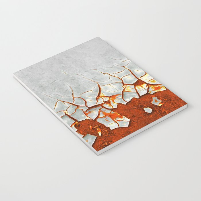 Rust and Grey Notebook