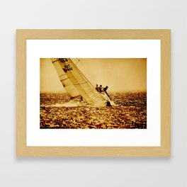 sailors Framed Art Print