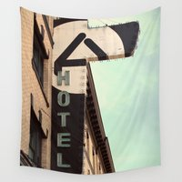 ace Wall Tapestries featuring Ace Hotel by Melissa Lund