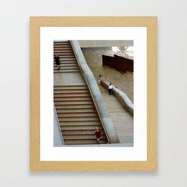 At the gallery (Washington, DC) Framed Art Print