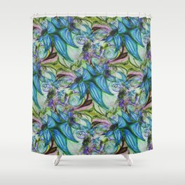 For the Frill of it Shower Curtain