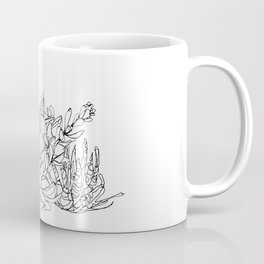 Succulent Group Coffee Mug