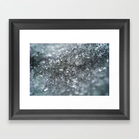 Ice Forever Framed Art Print