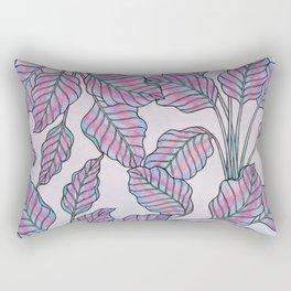 Colorful Caladiums Rectangular Pillow