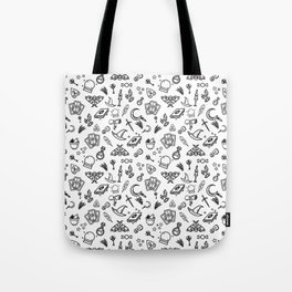 Modern Witch - White Tote Bag
