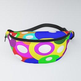 Multicolour Simple Dotty Pattern Fanny Pack