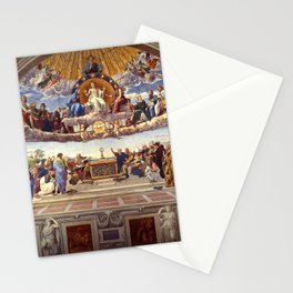 Disputation of the Holy Sacrament by Raphael Stationery Cards