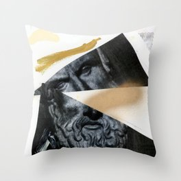 Untitled (Painted Composition 12) Throw Pillow