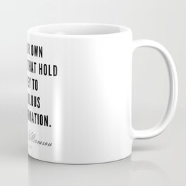 32     Marianne Williamson Quotes   190812 Coffee Mug